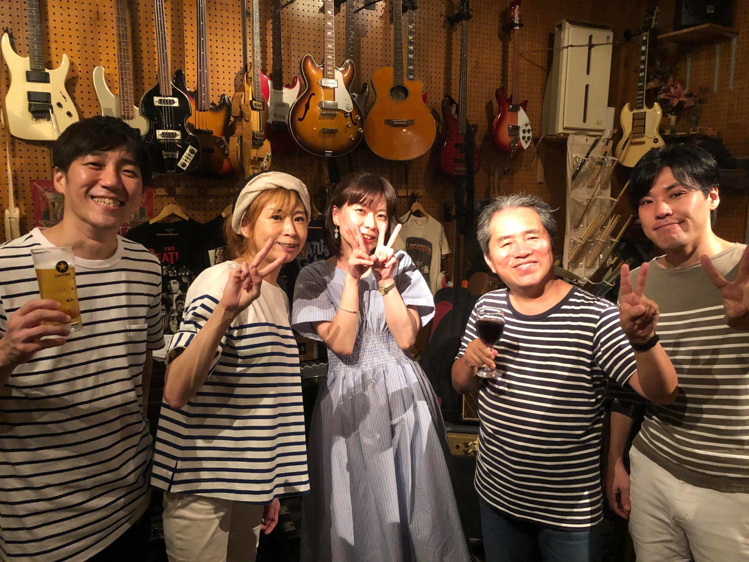 【ライブレポート】2020-07-11ボーカルクインテット